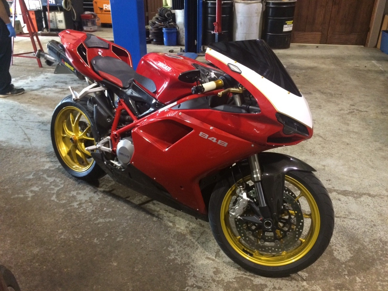 2009 Ducati ... Ducati Indianapolis In
